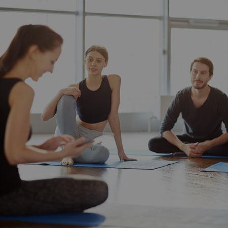 Online yoga teacher's training
